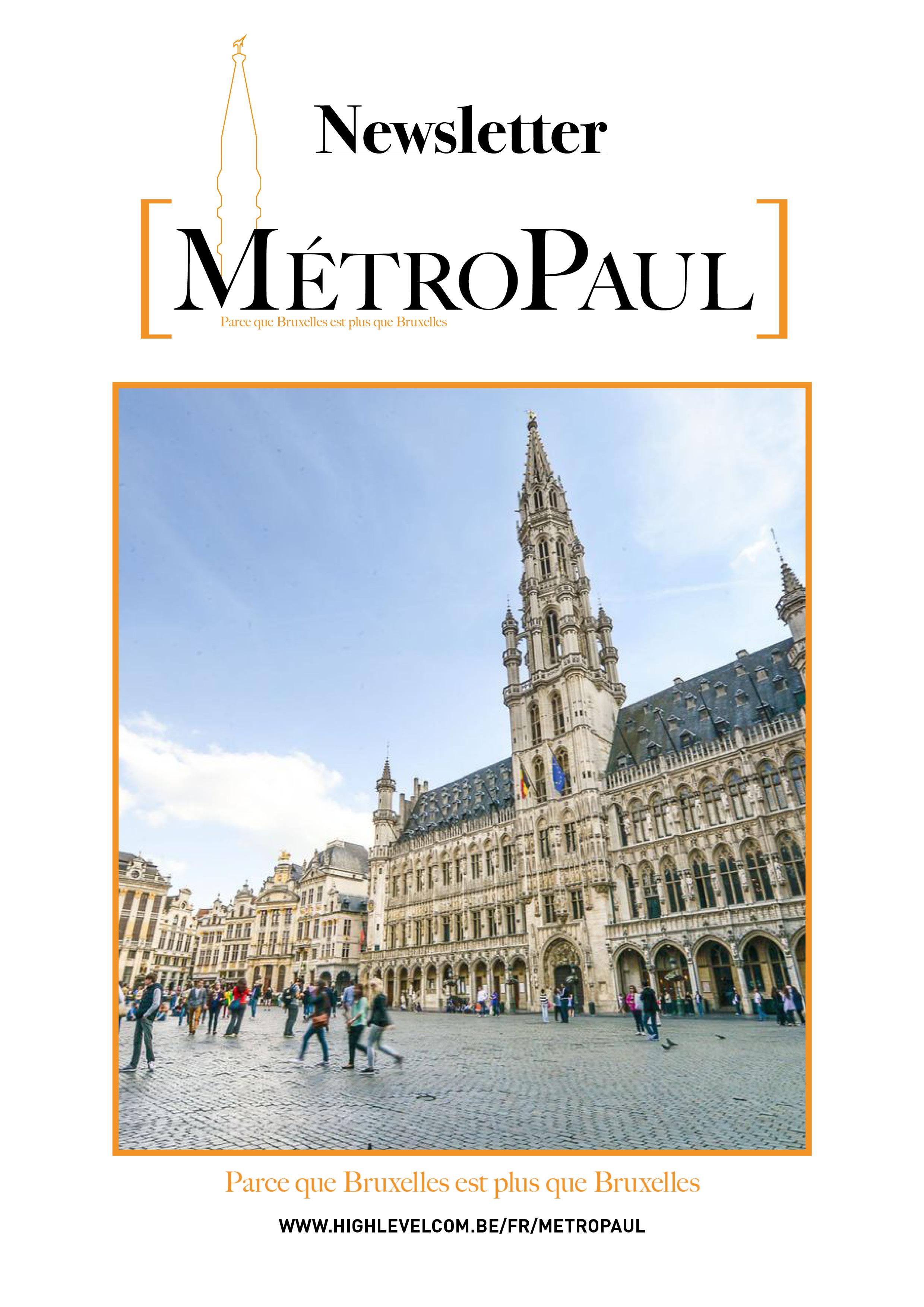 Couverture magazine MétroPaul